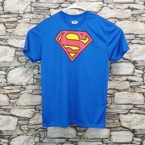 Superman Classic Emblem Graphic Tee Shirt
